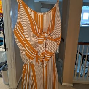 NWT Altar'd State Striped Jumpsuit Romper
